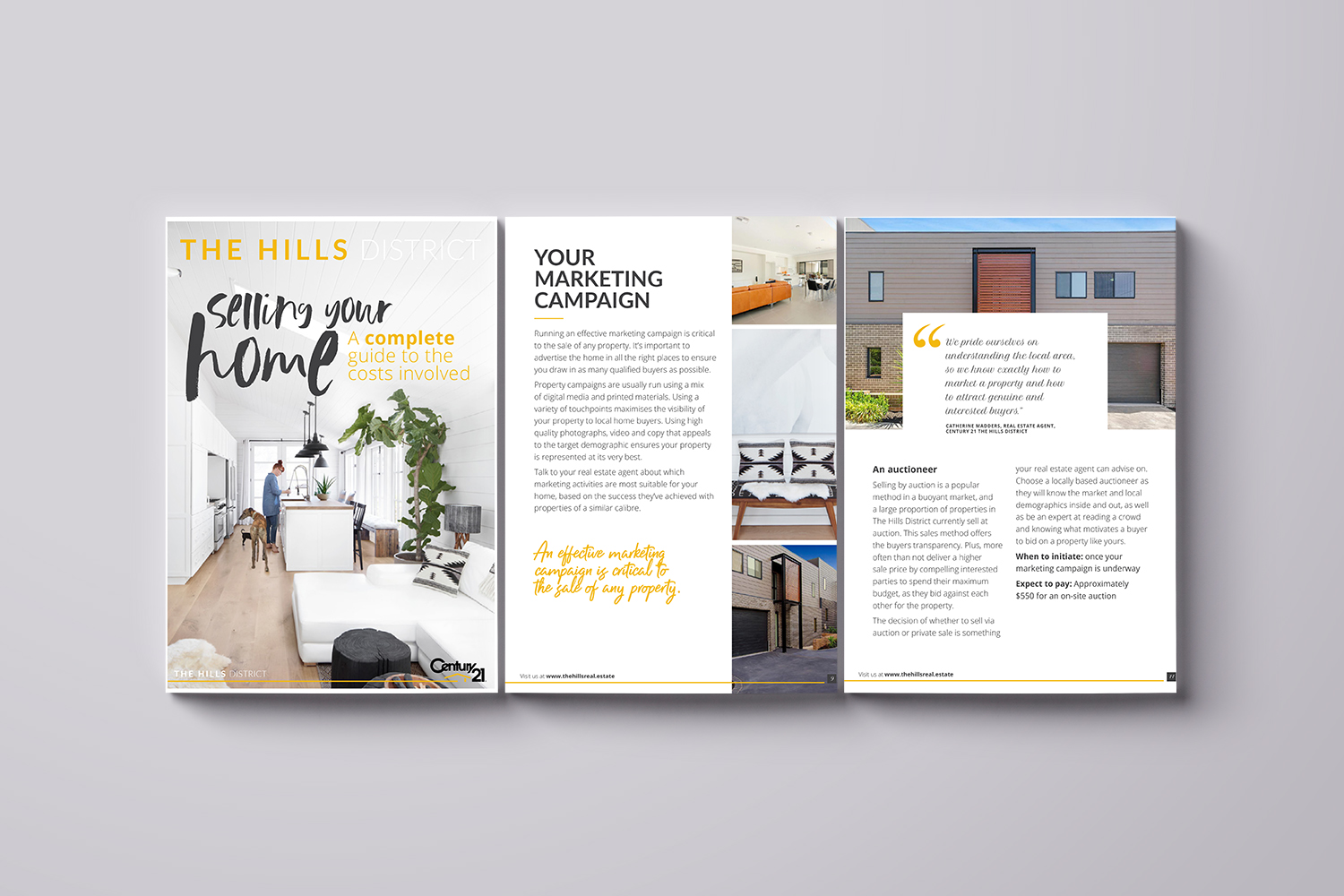 The Hills District – Century 21 Online Guide Design for Hoole.co