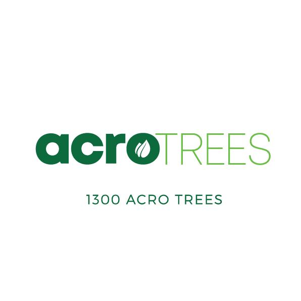 acroTREES logo rebrand