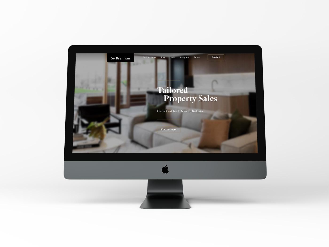 De Brennan Property Website Design