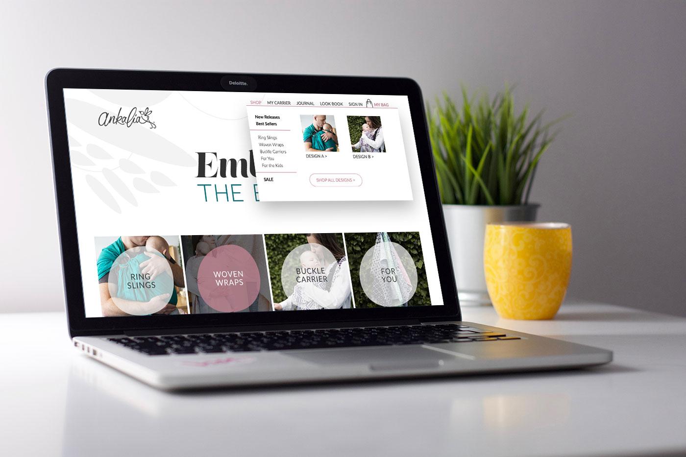 Ankalia ReBranded Website Design