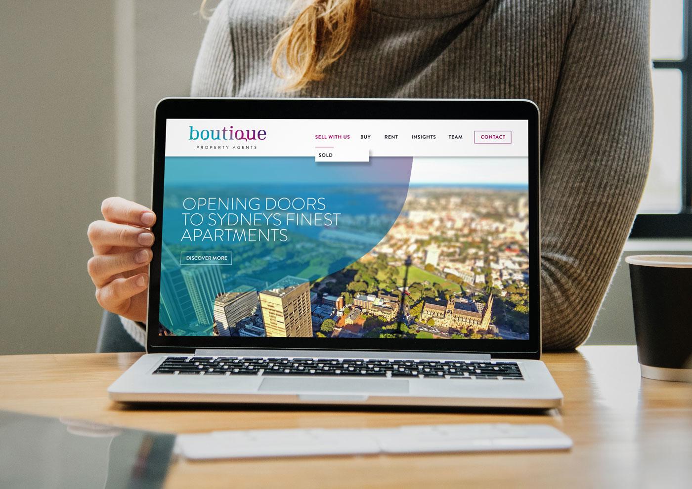 Boutique Property Agents Website
